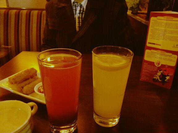 干爽山楂汁&清爽柠檬汁
