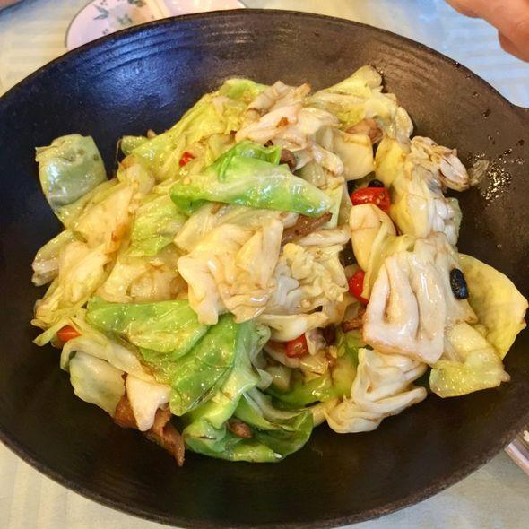 干锅香辣圆白菜