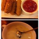香酥牛肉卷&培根土豆浓汤