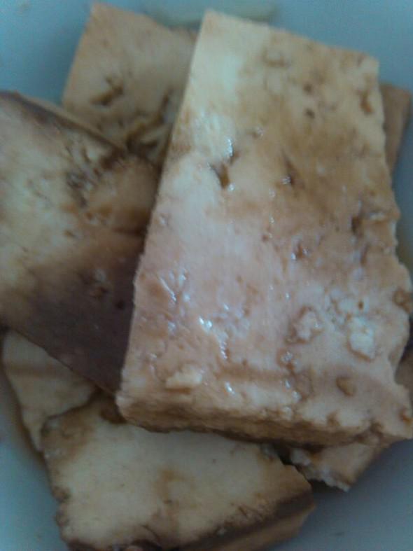自制卤豆腐