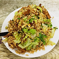 鸭腿蔬菜炒饭
