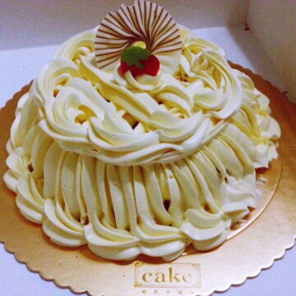 凯司令的栗子蛋糕