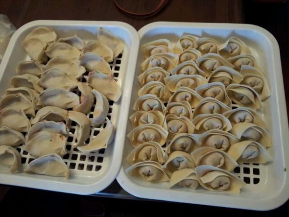 饺子馄饨一起吃