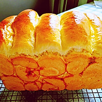 如棉花般柔软的椰蓉手撕面包