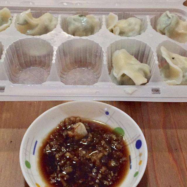 打包素三鲜饺子(楚楚爸爸那份)