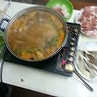 晚餐:家中自制火锅