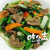 大蒜胡萝卜炒牛肉