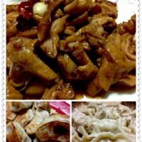 红烧肠肚、羊肉胡萝卜、猪肉白菜饺子