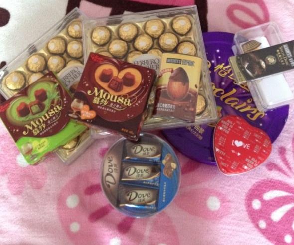 巧克力可以吃起拉
