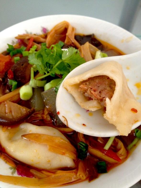 羊肉胡萝卜的饺子