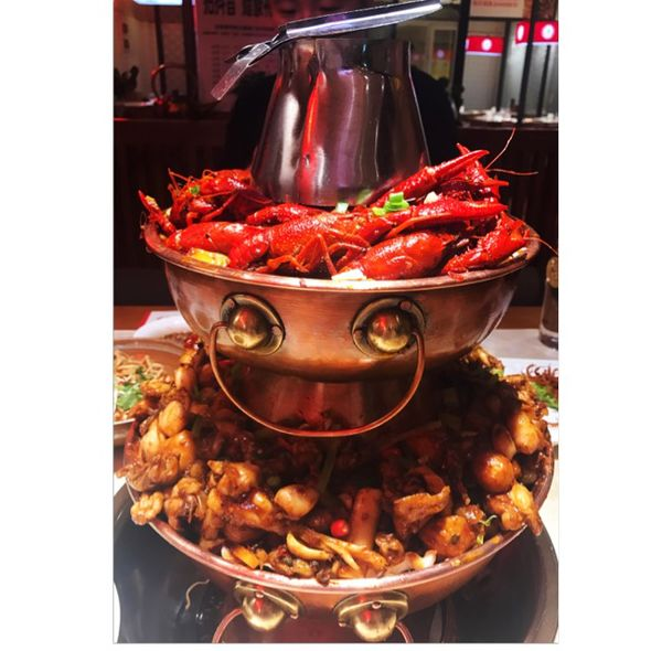 牛蛙爱上小龙虾