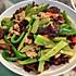 青笋木耳炒肉片