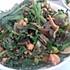 豆豉皮蛋韭菜花炒肉末