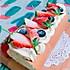 草莓奶油蛋糕卷#美的FUN烤箱 · 焙有FUN儿#