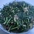 黄蚬子炒韭菜