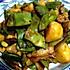豆角土豆炖宽粉