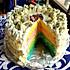 豆果5周年#彩虹蛋糕#