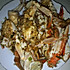 姜葱炒海蟹