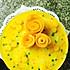芒果慕斯蛋糕(附芒果花做法)