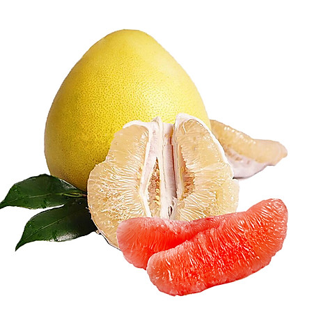 福建琯溪鸳鸯柚子 2红柚2蜜柚 7.5-8斤 包邮