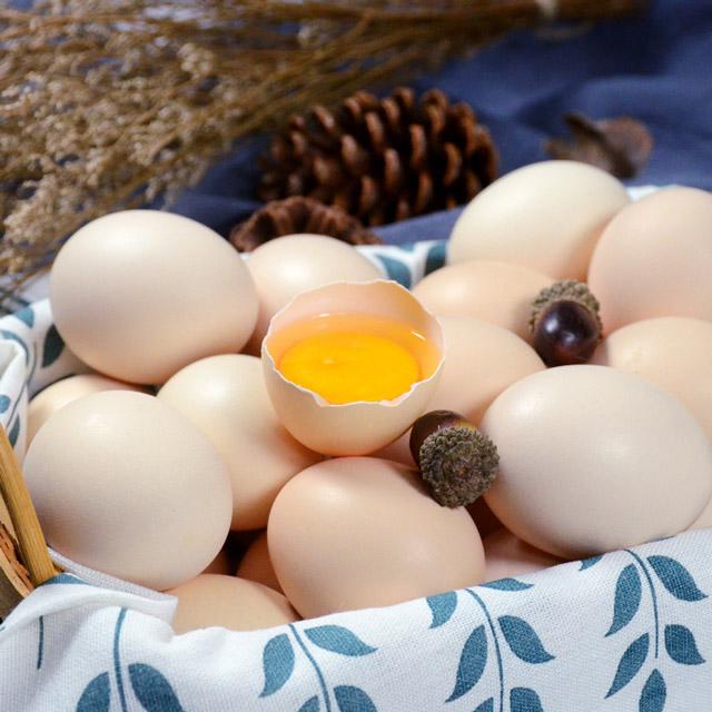 橡子树下土鸡蛋 30枚