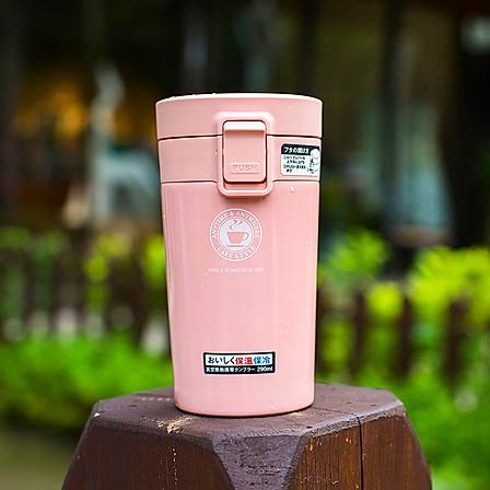ASVEL | 真空断热保温杯290ml/粉色