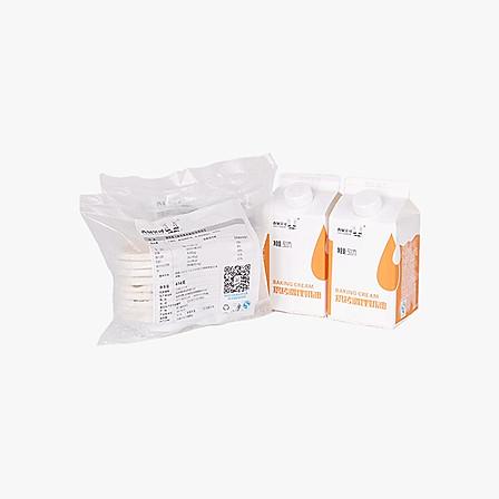 西厨贝可 葡式蛋蛋挞皮蛋挞液组合套装 可做36个蛋挞